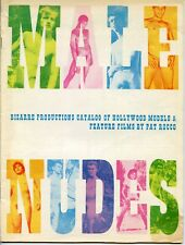 PAT ROCCO Bizarre Productions 1968 Catalog of Models and Films GAY INTEREST