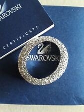 AUTHENTIC SWAROVSKI CRYSTAL SILVER PENDANT WITH CRYSTALS
