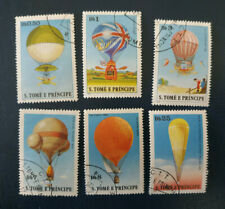 Sao Tomé Principe -1979 History of Aviation - Balloons - complet - O