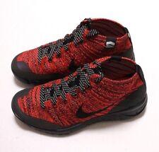 New Nike Flyknit Chukka Women's Sneakerboot, Size 7, 805093 603, Org $200
