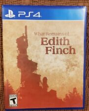 What Remains Of Edith Finch Ps4 New Unwrapped Never Played *Pristine Disc*