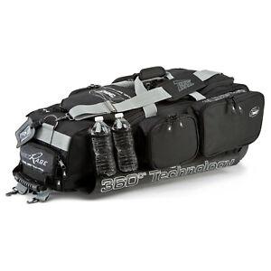 Tanel 360 R.A.G.E. Baseball/Softball Wheel Bag - Black