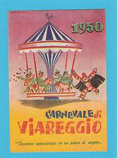 5527) Viareggio Carnevale 1950 - francobollo e timbro 1950 (Original postcard)