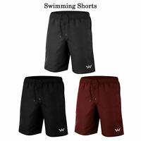 Mens Swimming Board Shorts Swimwear Beach Swim Shorts Summer casual Boys