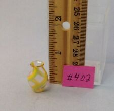 Dollhouse miniature 1/12th scale hand blown glass vase #402
