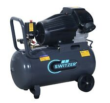 Switzer Mobile Air Compressor - 50 Litre 3hp 13CFM 230V Twin Cylinder AC006