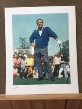 King of the Masters  Arnold Palmer autographed AP edition 25/25 Helen Rundell