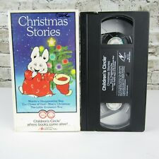 Children's Circle Christmas Stories (VHS, 1989) 4 shows Moris's Disappearing Bag