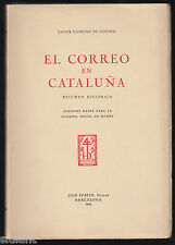 The post in Catalonia - History Postal - by Javier Campins of Codina Year 1951