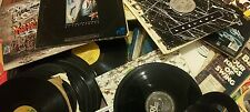 VInyl record junk lot. Mix of 80s 90s and older