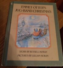 1971 Emmet Otter's Jug-Band Christmas by Russell Hoban (Hardcover)
