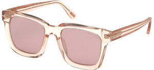 Tom Ford SARI FT 0690 Pink/Pink 52/20/145 unisex Sunglasses