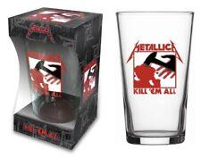 Metallica Glas Kill 'Em All Bierglas Longdrink Glas XL Trinkglas Pint Glass NEU