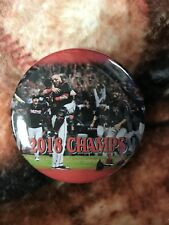 2018 Boston Red Sox Button - World Series Champions - Baseball Celebration Photo