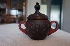 Very Rare Sugar Bowl 1930 Ingrid Hoffmann Schlevogt Riedel Dark Red Glass