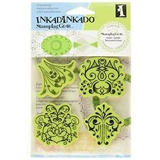 Inkadinkado Stamping Gear Cling Stamps, Antiquity