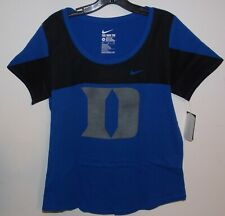 The Nike Tee Athletic Cut Duke Blue Devils Reflective D Short Sleeve Tee size XS