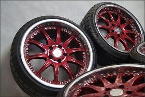 RH Phönix 8,5 9,5 18 Inch Rims Wheels 5x112 Mercedes Audi Vw Skoda Seat A3 A4