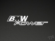 Bmw m power autocollant voiture M3 M5 E36 E39 decal