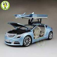 1:18 US GMC Buick Riviera 2009 Diecast Car Model Blue