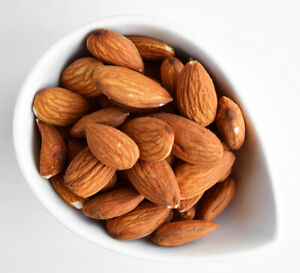 Whole Almond 1KG Raw Unsalted Unpasteurized Unroasted Almonds Nuts Fresh & Tasty