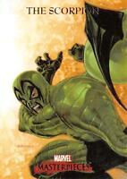 SCORPION / 2007 Marvel Masterpieces BASE Trading Card #73