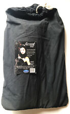 Savage Solid Black Muslin Photography Backdrop. BRAND NEW. 10' X 12'