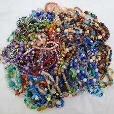 Beaded Stretch Bracelets Lot of 5 Wholesale Bundle Fashion Jewelry Costume
