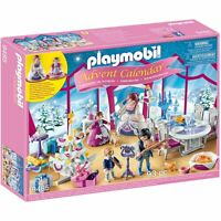 PLAYMOBIL Princess Advent Calendar Christmas Ball 9485 - 93 Pieces Age 4+