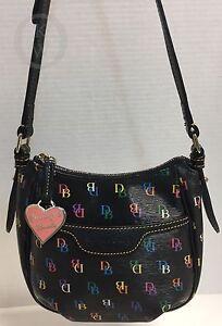 Dooney & Bourke*Black* IT *Shoulder Bag 17087J S14