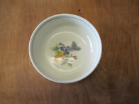 "Mikasa Intaglio GARDEN BLOOM CA329 Fruit Bowl 5"" 1 ea   2 available"