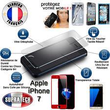 Protection d'Ecran en Verre Trempé Face Avant Complète Rouge pour Apple iPhone 7
