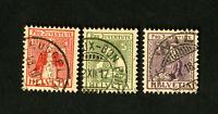 Switzerland Stamps # B7-9 Used VF Catalog Value $95.25