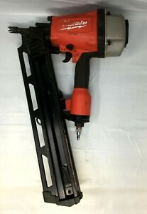 Milwaukee 7200-20 3-1/2 in. 21 Degree Full Round Head Framing Nailer, MD258