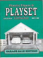 Plastic Figure & Playset Collector #62, Marx Garages, PFPC