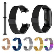 For Fitbit Charge 3 / Charge 4 Milanese Loop Band Replacement with Magnet Lock