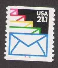 US. 2150. 21.1c. Sealed Envelopes Coil Single # 111111. Mint. NH. 1985