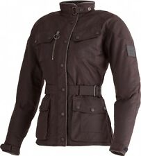 MLTA17103 Triumph Ladies Waxed Cotton Barbour Motorcycle Jacket XL