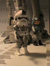 PLAYMOBIL CUSTOM PILOTO AT-AT (STAR WARS V) REF-0031 BIS