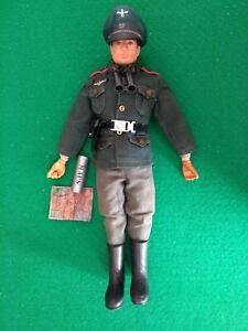 Vintage Action Man German Staff Officer Uniform part only Accessories 1974 [417]