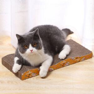 Cat Kitten Corrugated Scratcher Scratching Bed Board Mat posts