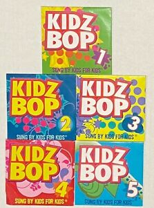 Lot of 5 Kidz Bop Music CDs 1-5 McDonalds Happy Meal