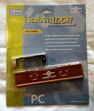 Vantec Iceberq DDR-A1C Copper DDR Memory Heatspreader