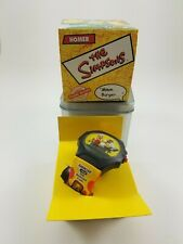 2002 HOMER Talking Watch IN BOX The Simpsons BURGER KING