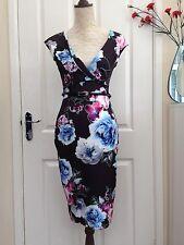 Women's Blue Mix Lipsy Dress Size 8