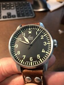 Laco Augsburg Type A Pilot watch