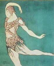 Ballet Russe, Jean Cocteau, Poster of Vaslav Nijinsky 1911, Russian Ballet..