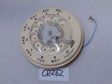 BELL SYSTEM WESTERN ELECTRIC 9CA ROTARY IVORY DIAL 4-82 1982
