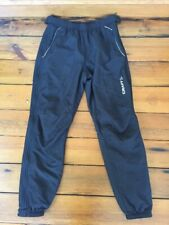 Craft L3 Protection Unisex Fleece Lined Side Zip Cycling Elastic Pants L 28x31