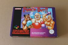 SNES SUPER PUNCH OUT PAL VERSION BOX ONLY PAL VERSION NEW NO GAME